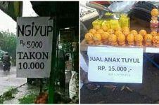 Kocak, ini 13 'bisnis' unik ala warga Indonesia yang bikin tersenyum