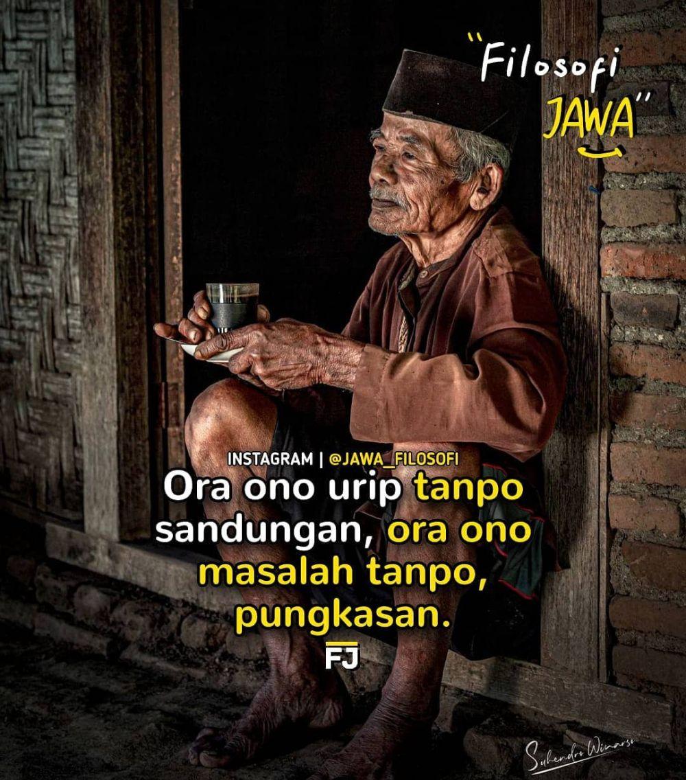 kata bagus story WhatsApp Jawa © Instagram