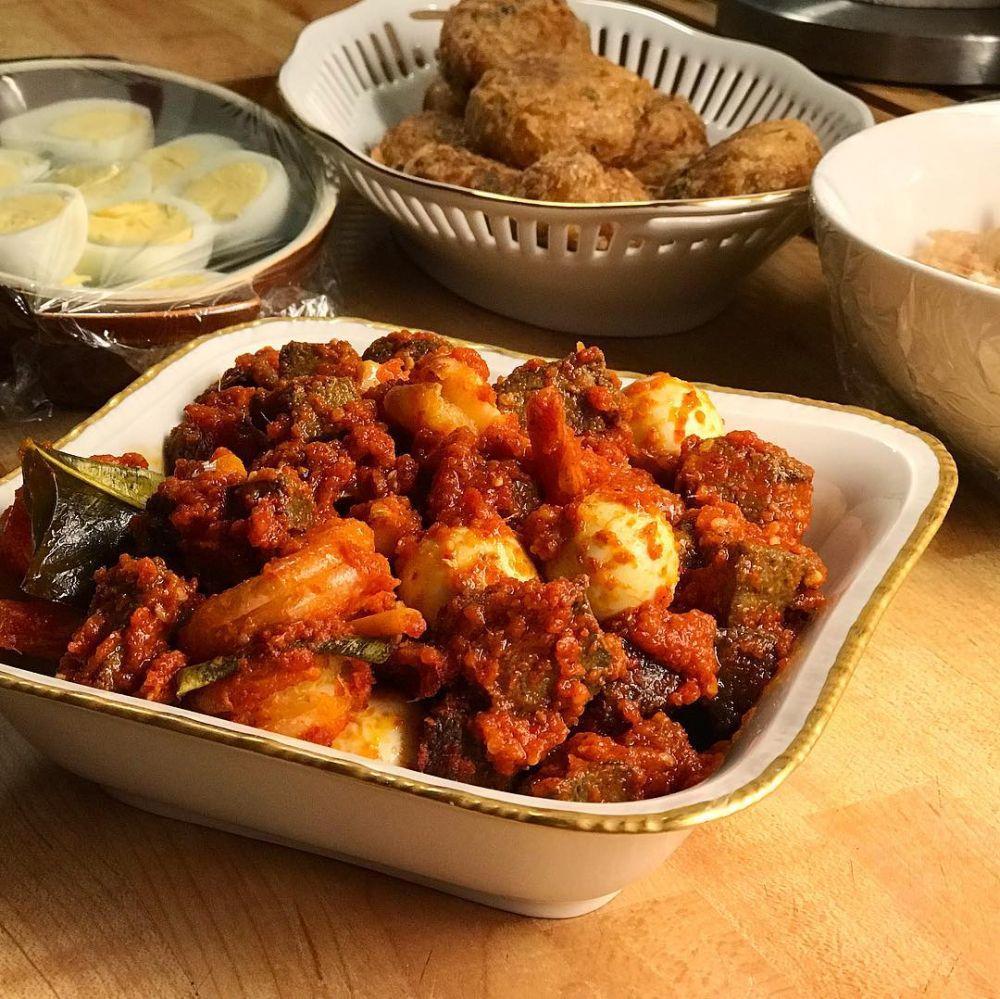 Resep kreasi jeroan ayam dan sapi © Instagram