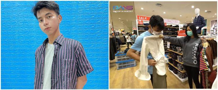 Biasa beli di pasar malam, ini 8 momen Dimas Ahmad borong baju di mal