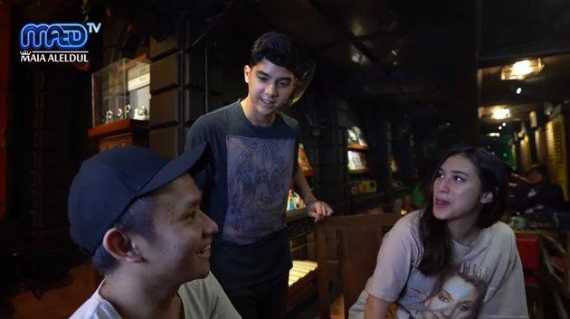 al ghazali jadi barista © YouTube