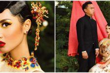6 Potret post wedding Atries Angel beragam tema, ada di kebun kaktus