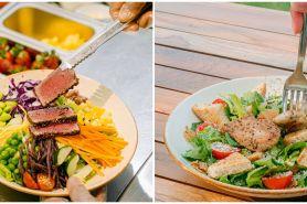 Tren hidup sehat saat pandemi, jaga kesehatan dengan makan salad