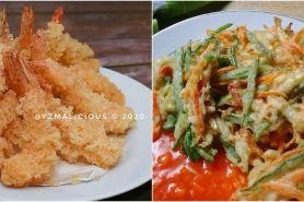 10 Resep tempura dari aneka bahan, sederhana, renyah dan mudah dibuat