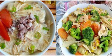 10 Resep masakan kembang tahu, enak, sederhana, dan praktis