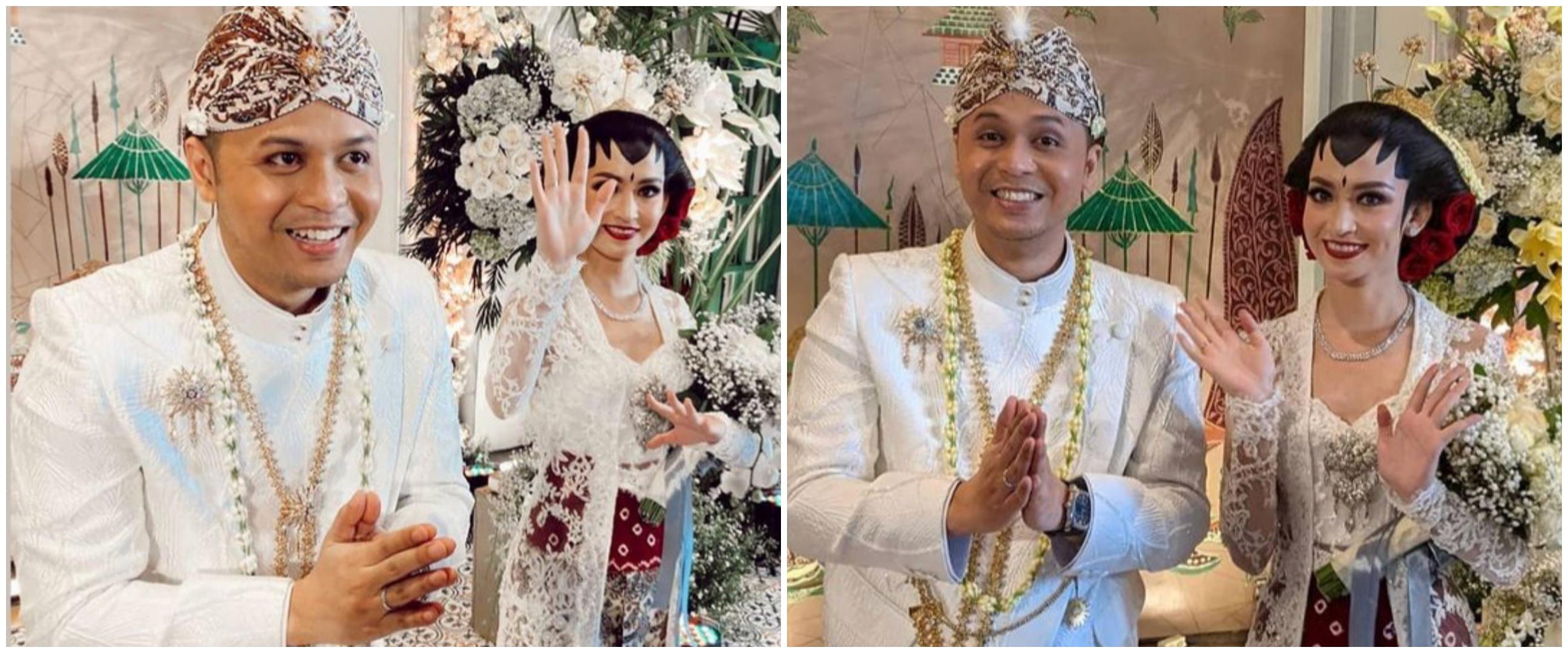 10 Momen akad nikah Karina Nadila & Rangga Prihartanto, penuh khidmat