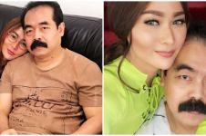 Viral foto Adam Suseno suami Inul cukur kumis, ini alasannya