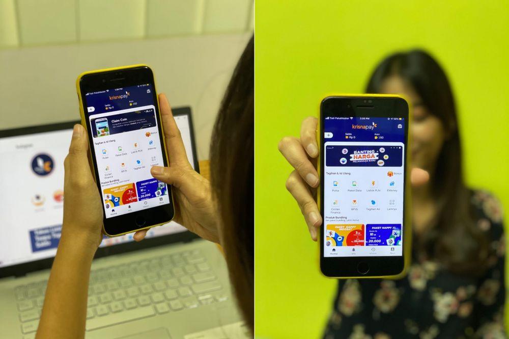 Aplikasi Krisnapay © 2020 brilio.net
