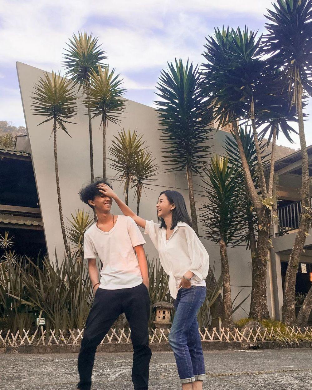 kebersamaan glenca chysara dan adik © Instagram