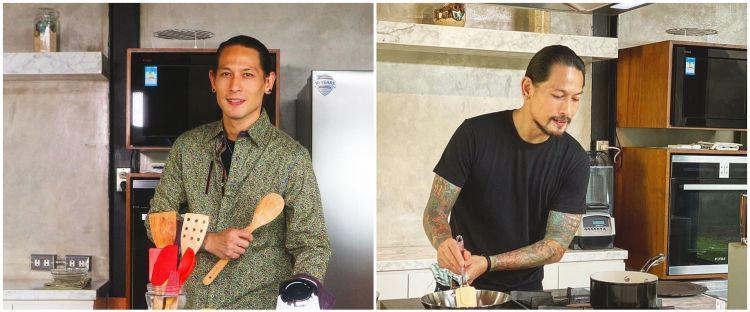 Chef Juna unggah foto lawas, parasnya bikin warganet melongo