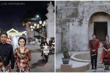 Beda gaya 8 seleb prewedding di Jogja, Billy Davidson tampil elegan