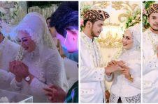 10 Momen pernikahan Elly Sugigi dan Aher, penuh kebahagiaan