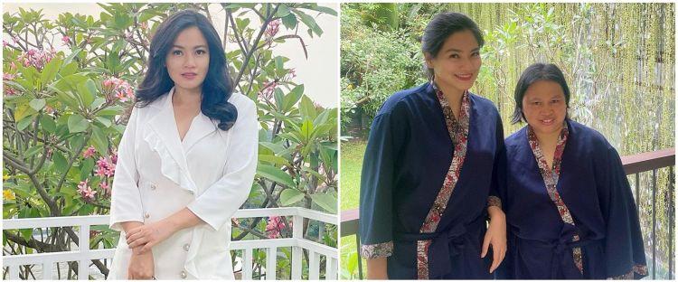 Momen kedekatan Titi Kamal dan ART, spa bareng di Bali