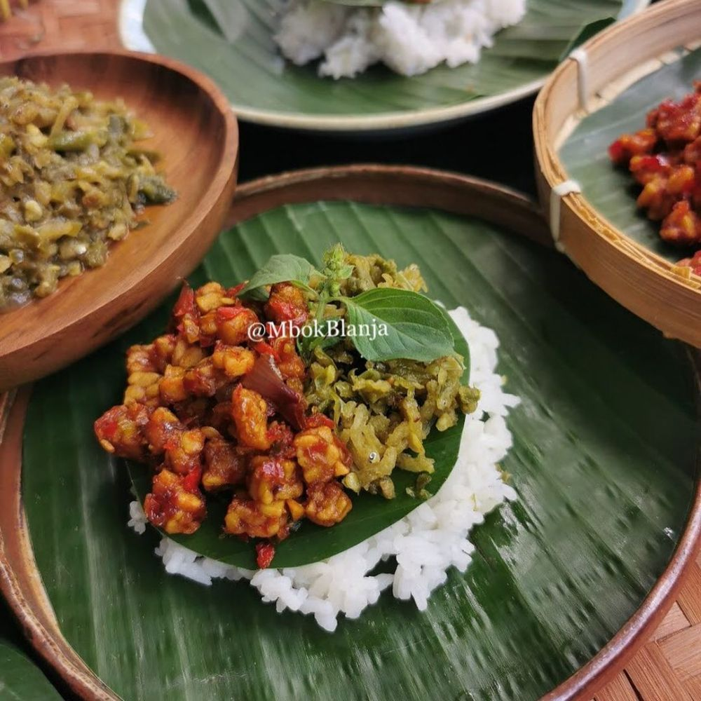 Resep menu ala angkringan © Instagram