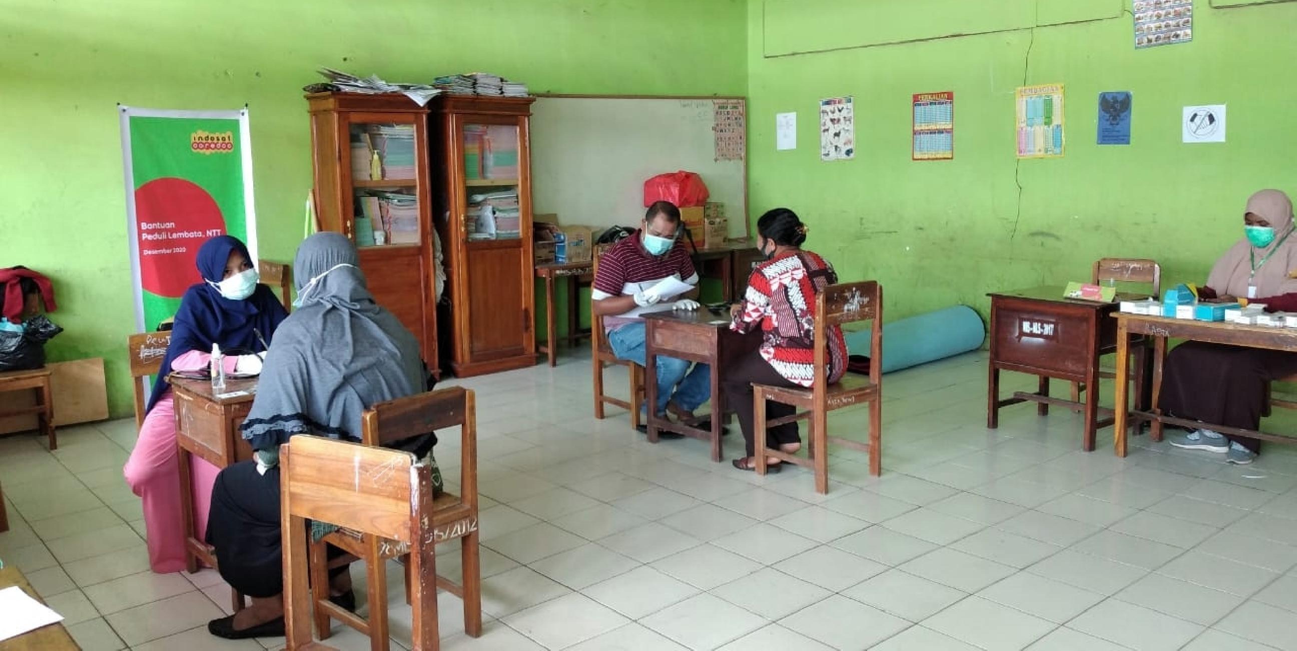 Peduli korban bencana, Indosat Ooredoo terjunkan mobil klinik