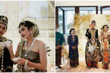 11 Momen akad hingga resepsi pernikahan Adipati Dolken & Canti Tachril