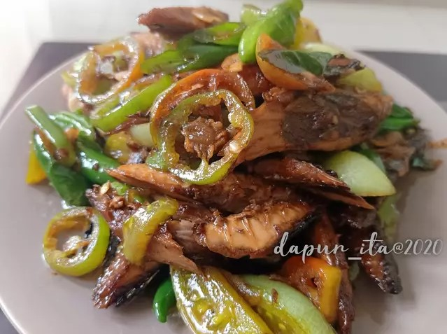 Resep kreasi ikan salem © Instagram