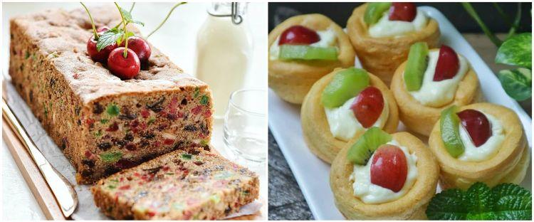 15 Resep kue untuk perayaan Natal, ada Light Fruitcake