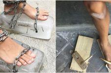 10 Kreasi alas kaki handmade ini nyelenehnya bikin dahi berkerut