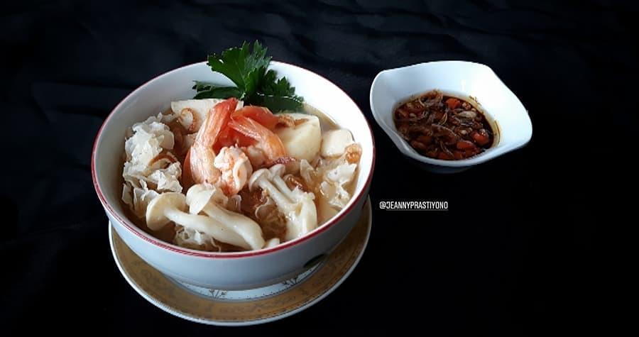 Resep aneka sup jamur © Instagram