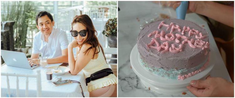 10 Momen Ayu Dewi dapat kejutan di Hari Ibu dari suami, romantis abis