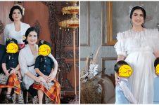 Hamil anak ketiga, ini 6 gaya pemotretan maternity Kadek Devi