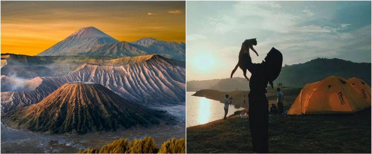 40 Caption Instagram keindahan gunung, bikin semangat mendaki