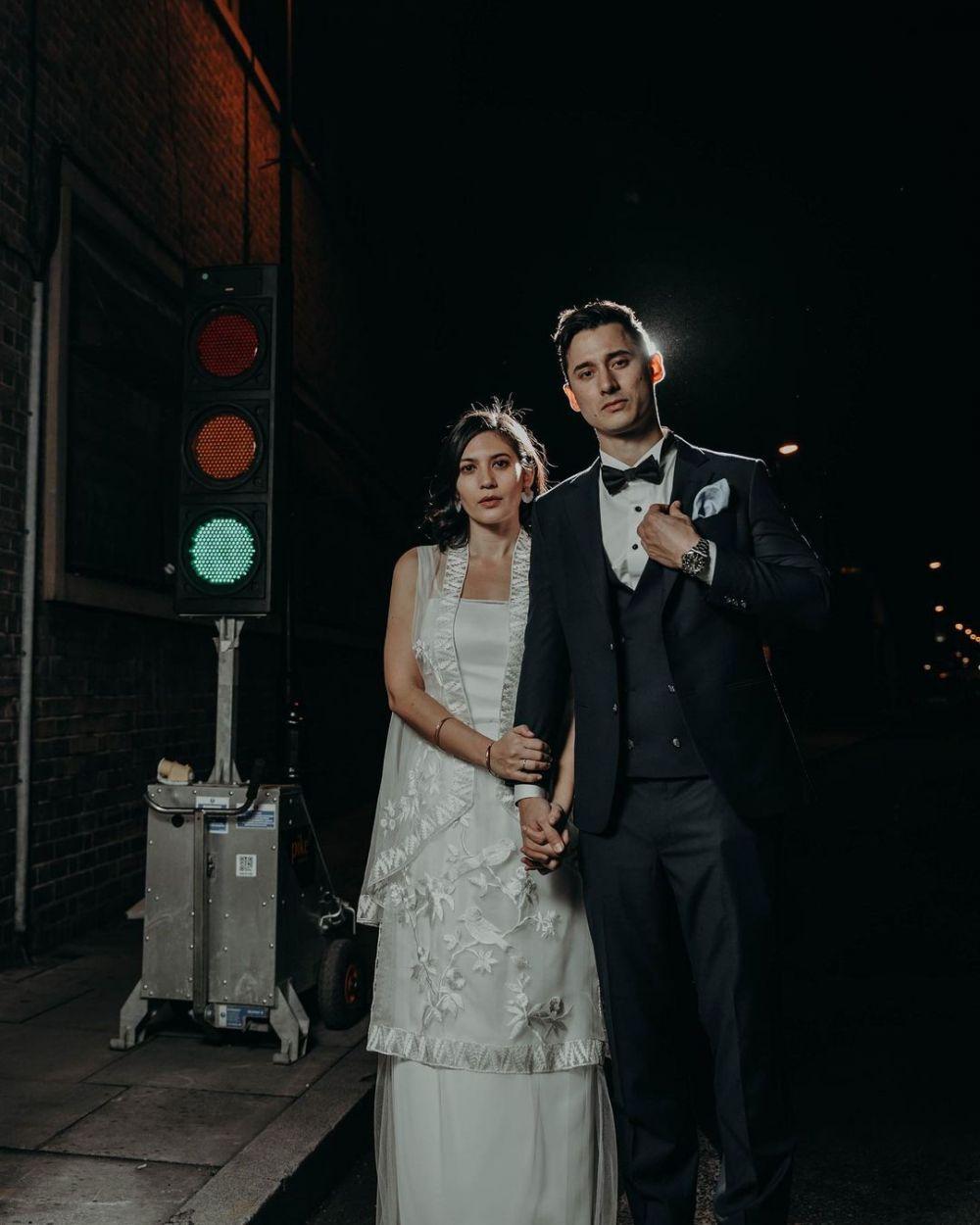 Potret pernikahan Nino Fernandez © Instagram