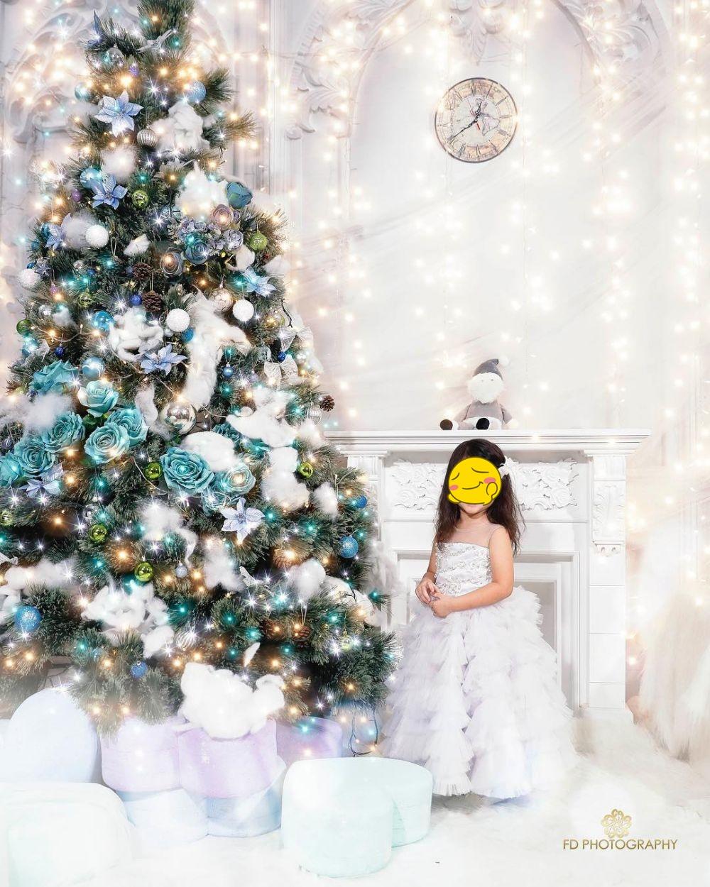 pemotretan Natal keluarga Ruben © 2020 brilio.net
