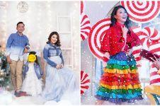 10 Gaya pemotretan Natal keluarga Ruben Onsu dari tahun ke tahun