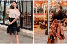 10 Gaya outfit Glenca Chysara, manis dan jauh dari kesan sinis