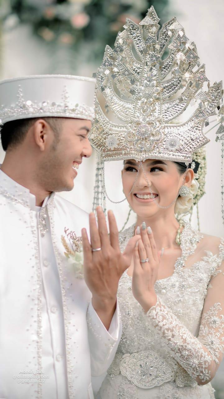 momen pernikahan gariz luis © Instagram
