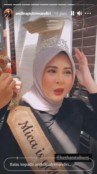 Momen bridal shower Kesha Ratuliu © Instagram
