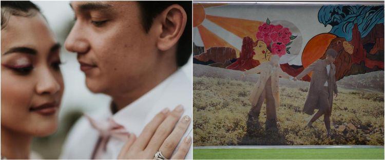 6 Potret prewedding Adipati Dolken & Canti Tachril, gaet 5 pelukis