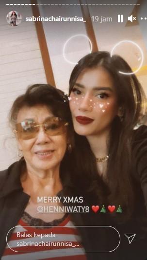 Momen Deddy Corbuzier ikut rayakan Natal © Instagram