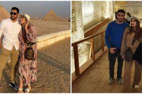 7 Momen liburan Tania Nadira dan Abdulla Alwi ke Mesir saat pandemi