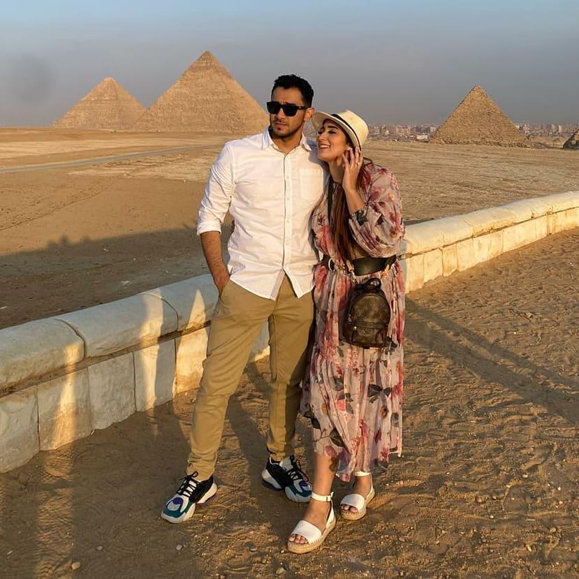 momen Tania Nadira ke Mesir © 2020 berbagai sumber