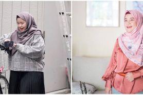 5 Potret Diera Bachir sebelum vs sesudah diet hingga 20 kg