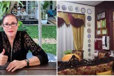 11 Potret rumah Mpok Atiek, kamar tidurnya curi perhatian