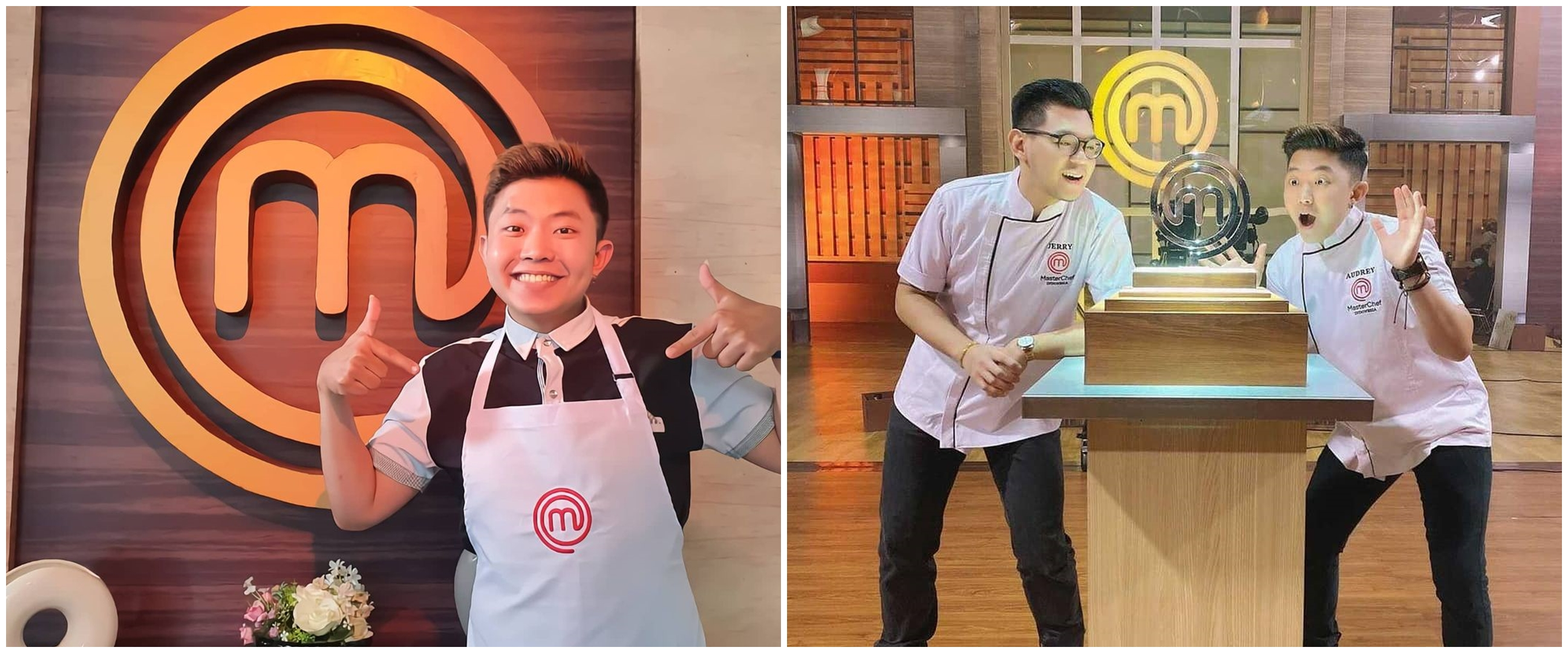 10 Potret Audrey runner up MasterChef season 7, chef yang jago kalimba