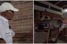 10 Potret isi dalam rumah Mark Sungkar, furniturnya serba kayu