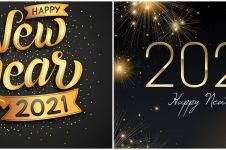 60 Ucapan selamat Tahun Baru 2021, penuh doa dan harapan