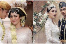 10 Gaya prewedding Felicya & Hito dalam balutan baju adat