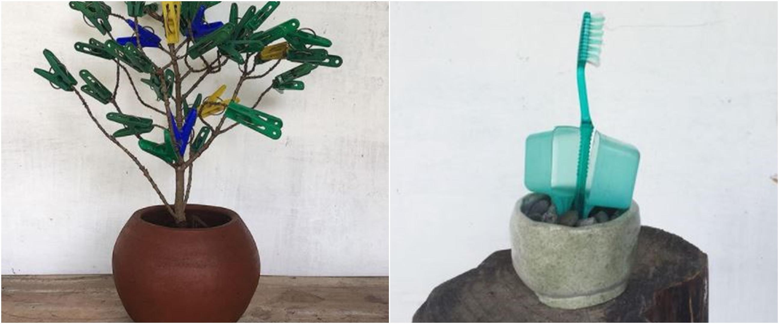 10 Potret lucu tanaman bukan dari tumbuhan ini kelewat kreatif