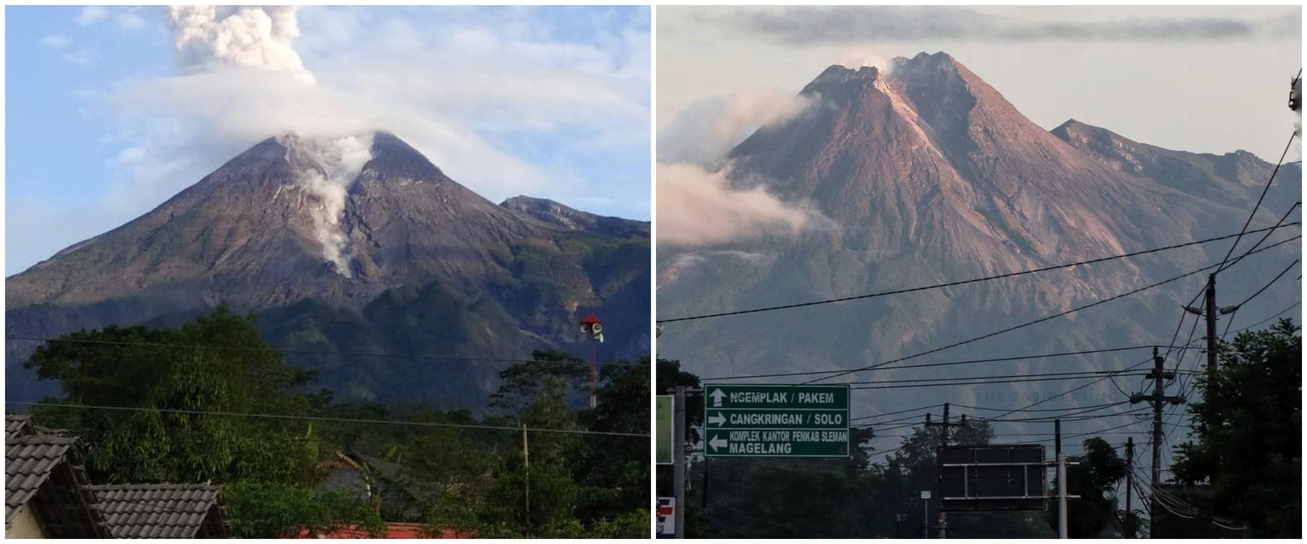 Intensitas kegempaan Gunung Merapi tinggi, status masih siaga