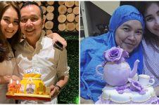 10 Potret kue ultah keluarga Ayu Ting Ting, ada yang bertabur uang