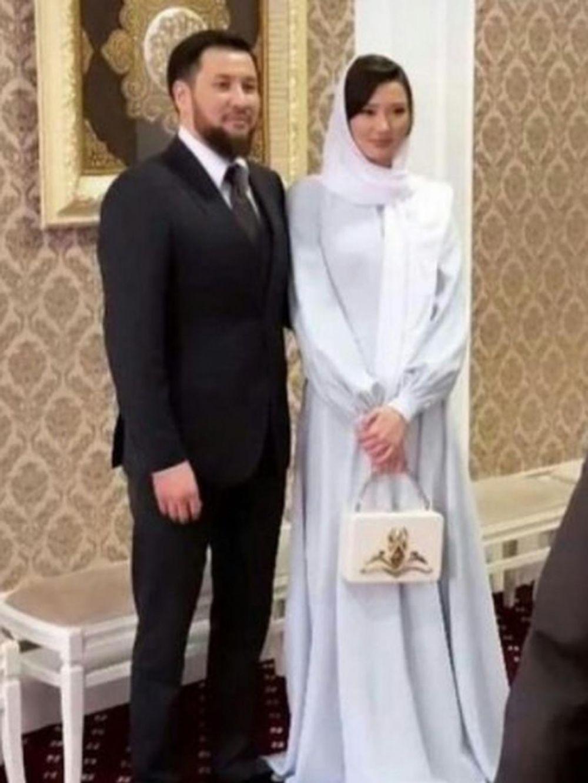 momen pernikahan sabina © Instagram