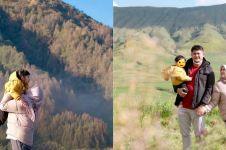 10 Momen seru liburan Ryana Dea dan keluarga, road trip ke Bromo