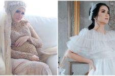 Gaya pemotretan maternity 5 seleb yang menikah dengan abdi negara