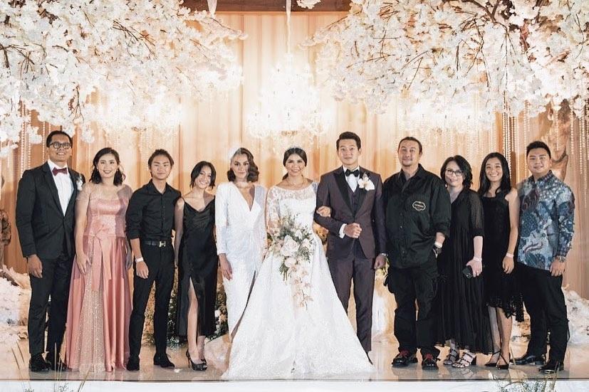 Agnez Mo hadiri nikahan Greysia Polii Instagram
